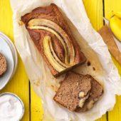 Banana Bread mit Nüssen