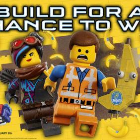 Chiquita kooperiert mit neuer Kinofortsetzung THE LEGO® MOVIE 2: THE SECOND PART