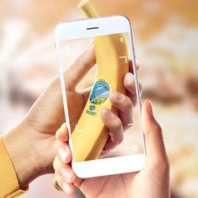 Chiquita hat sich mit Shazam und Dffrnt Media zusammengetan, um durch eine virtuelle Transformation der Produktpräsentation ein intensiveres Erlebnis zu schaffen