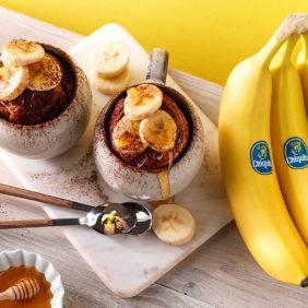 Muffin-Tassenkuchen mit Chiquita Bananen