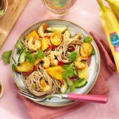 Garnelen-Pfanne mit Chiquita Banane
