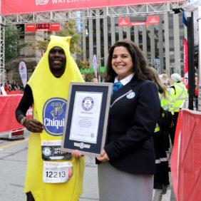Chiquita schwärmt für rekordbrechenden Läufer