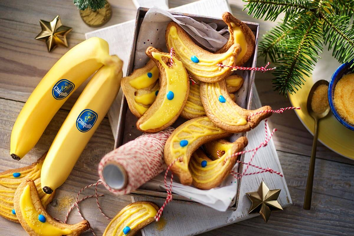 Chiquita Bananen-Weihnachtsplätzchen