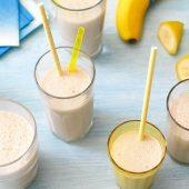 Einfacher Bananen-Shake
