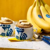Einfacher Tassenkuchen mit Chiquita Bananen