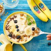 Leicht zuzubereitende Frozen-Smoothie-Bowl mit Chiquita Bananen