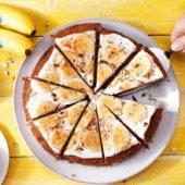 Gesunder Bananen-Karottenkuchen
