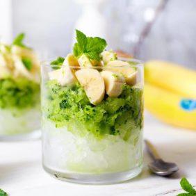 Gesunde Gurken-Granita mit Chiquita Banane und Minze