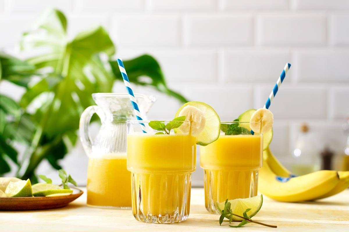 Tolle Rezepte für Bananen-Smoothies von Chiquita