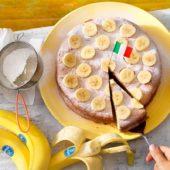 Italienische Torta Paradiso mit Chiquita Bananen