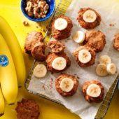 Vegane Chiquita Bananenbrotplätzchen aus überreifen Bananen   Chiquita-Rezepte
