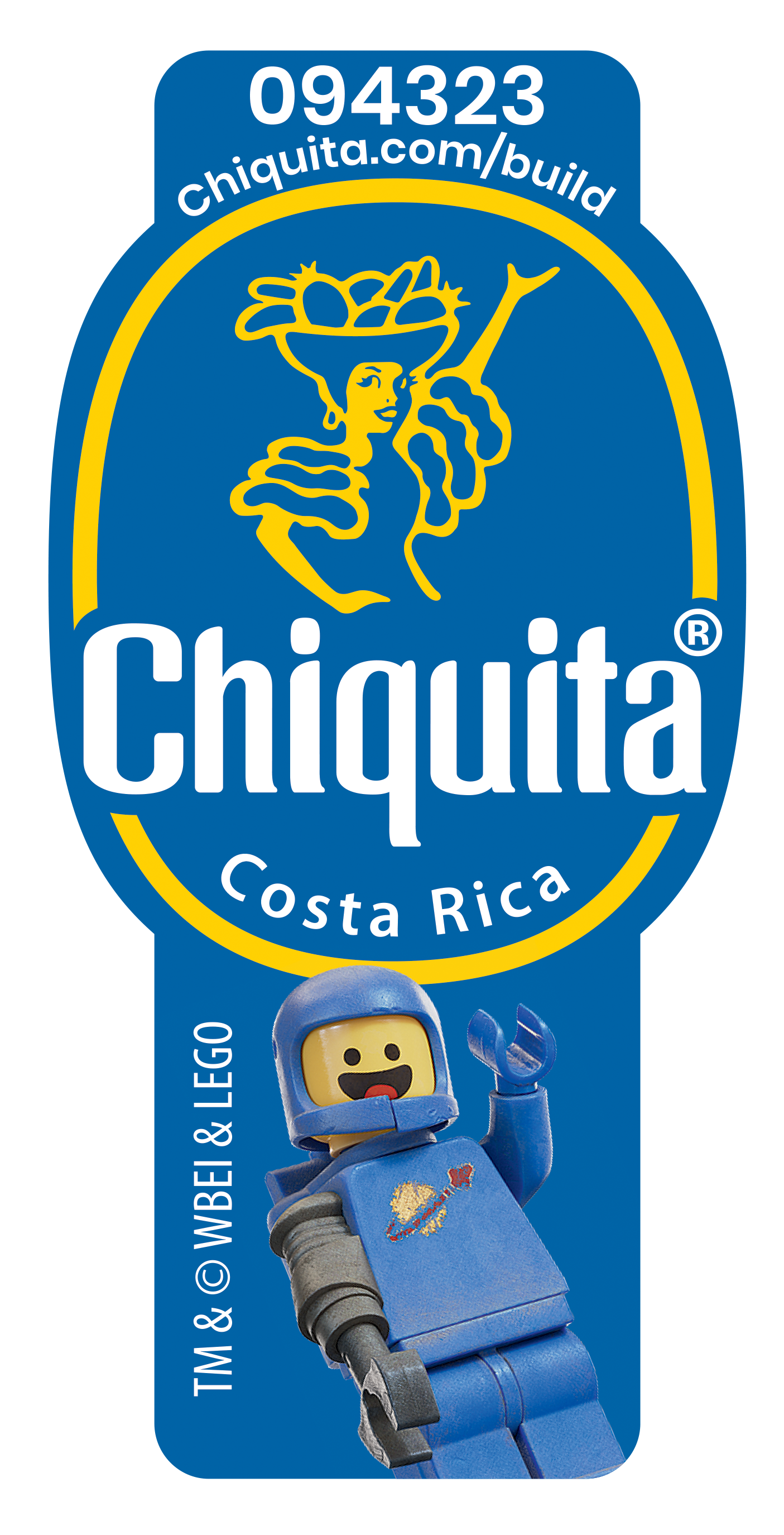 Chiquita Lego Stickers