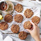 Chiquita Bananen Hafercookies mit dunkler Schokolade