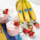 Schneller Erdbeer-Smoothie mit Chiquita Bananen
