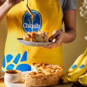 Chiquita Bananen Karamellkuchen