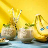 Smoothie mit Chiquita Banane und grünem Tee