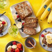 Chiquita Bananenbrot mit Haferflocken