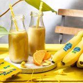 Smoothie mit Chiquita Banane, Orange und Ingwer