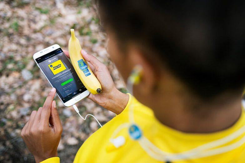 Chiquita und den Spotify-Playlists Sticker Kollektion