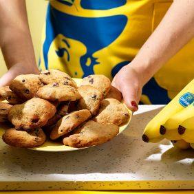 Einfache Schokokekse mit Chiquita Banane