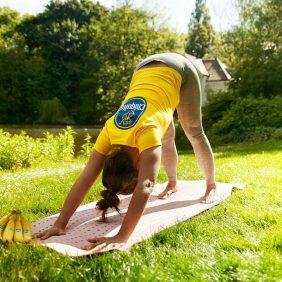 Yoga- und Beweglichkeitsübungen