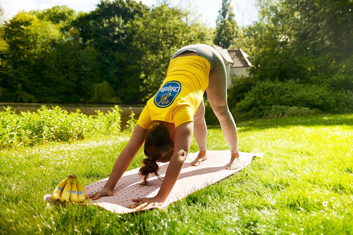 Yoga, Bananen & Beweglichkeitsübungen