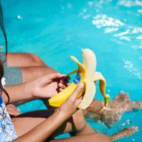 Chiquita Bananen sind der perfekte Snack im Sommerurlaub