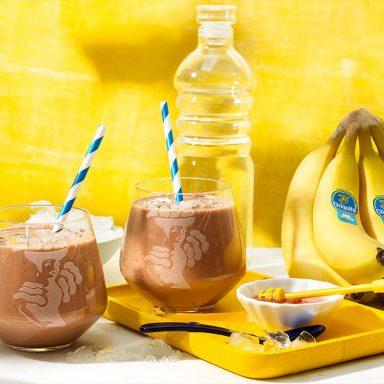 Post-Workout-Proteinshake mit Chiquita Banane