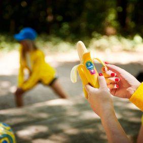 Verrückte Bananen-Power von Chiquita für Jogger und Radfahrer