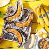 Karamellisierte BBQ Chiquita Bananen