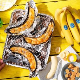Vier neue Sommerrezepte mit Chiquita Bananen vom Grill