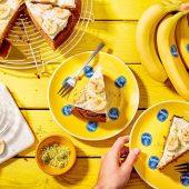 Karottenkuchen-Bananenbrot mit Chiquita Bananen