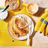 Bananenbrot-Pancakes mit Chiquita Bananen