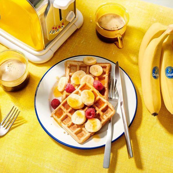 Feiere den Welt-Vegetarier-Monat mit Chiquita Bananen!
