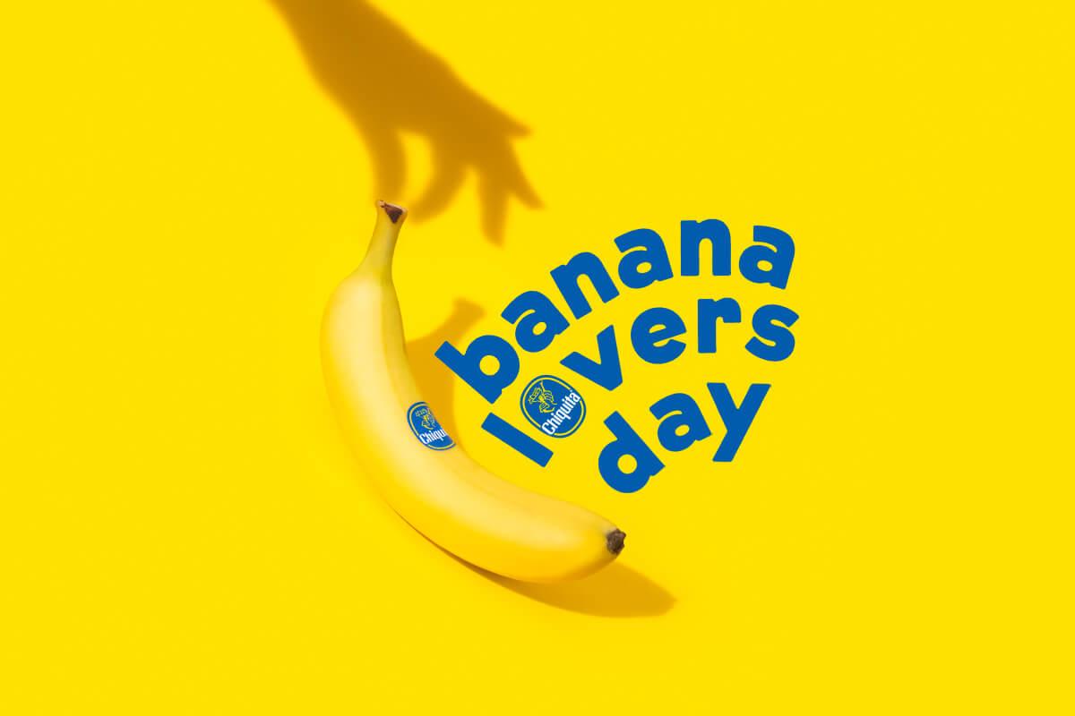 Chiquita feiert den Banana Lovers Day mit beliebten Bananenrezepten