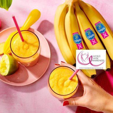 Smoothie mit Chiquita Bananen, Birnen und Kurkuma