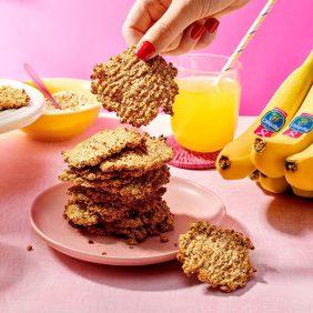 Chiquita-Bananen-Haferkekse mit zwei Zutaten
