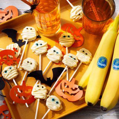 Halloween Chiquita Bananenpops