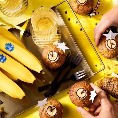 Bananenbrotmuffins von Chiquita
