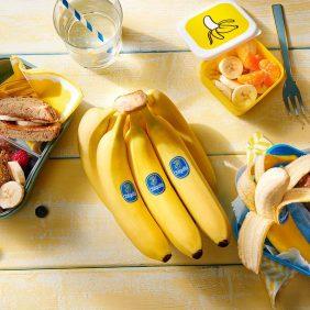 Gesunde Snacks für Kinder? Mit Chiquita Bananen endet deine Suche!