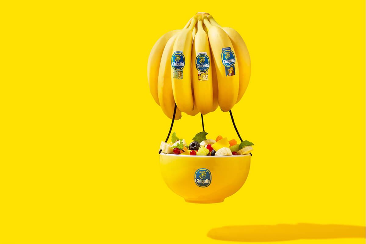 Klassischer Obstsalat mit Chiquita Bananen