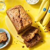 Bananenbrot mit Schokoladentropfen von Chiquita