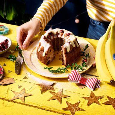 Weihnachtliches saftiges Bananenbrot von Chiquita