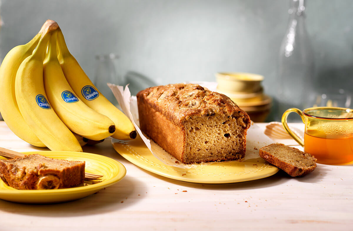 Einfaches Bananenbrot von Chiquita