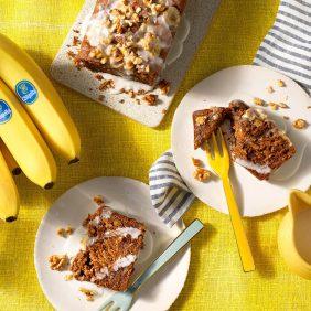 Eifreies Bananenbrot von Chiquita