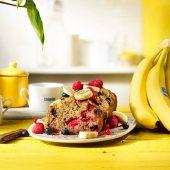 Glutenfreies Bananenbrot von Chiquita