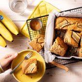 Gesundes Bananenbrot von Chiquita