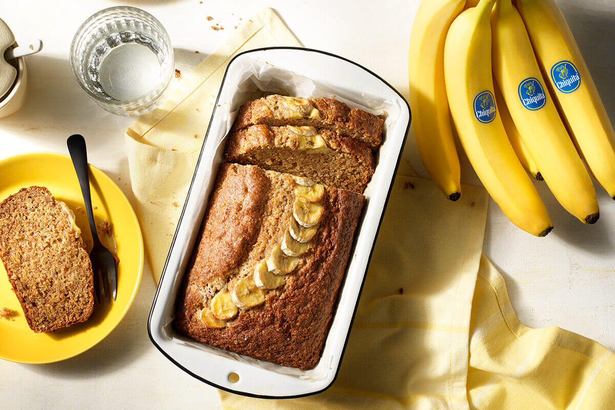 Zuckerfreies Bananenbrot von Chiquita