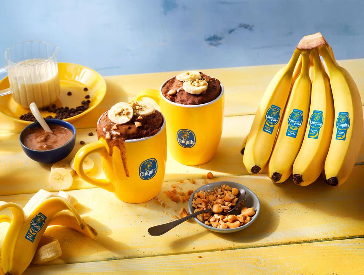 Allzeit bester Schoko-Tassenkuchen mit Chiquita Banane