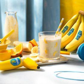 Smoothie mit Chiquita Banane, Orange und Honig